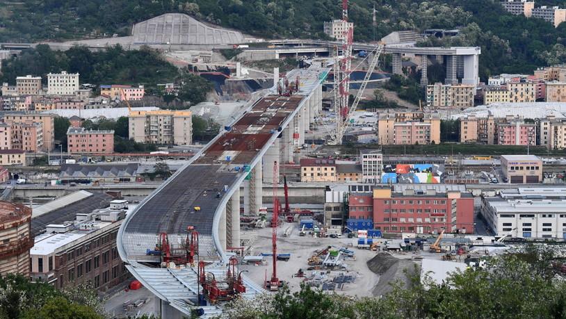Autobahnbrücke Eingestürzt