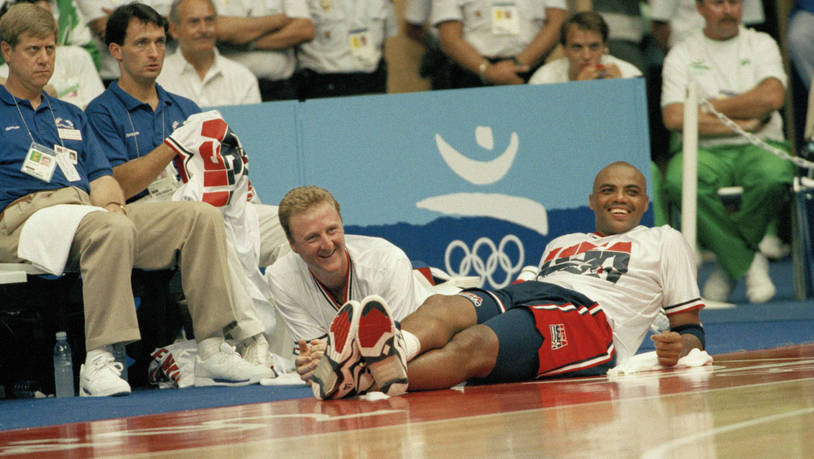 Larry Bird und Charles Barkley
