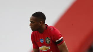 Anthony Martial erzielte seine 50. Premier-League-Tor für Manchester United