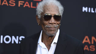 ARCHIV - Morgan Freeman bei der Premiere des Films «Angel Has Fallen» 2019 in Los Angeles. Foto: Jordan Strauss/Invision/AP/dpa