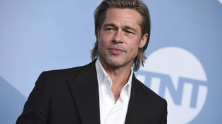 ARCHIV - Brad Pitt bei der Verleihung der Screen Actors Guild Awards in der Shrine Auditorium  Expo Hall. Foto: Jordan Strauss/Invision/AP/dpa